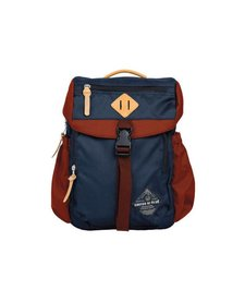BLUFF UTILITY BACKPACK -NAVY/RUST