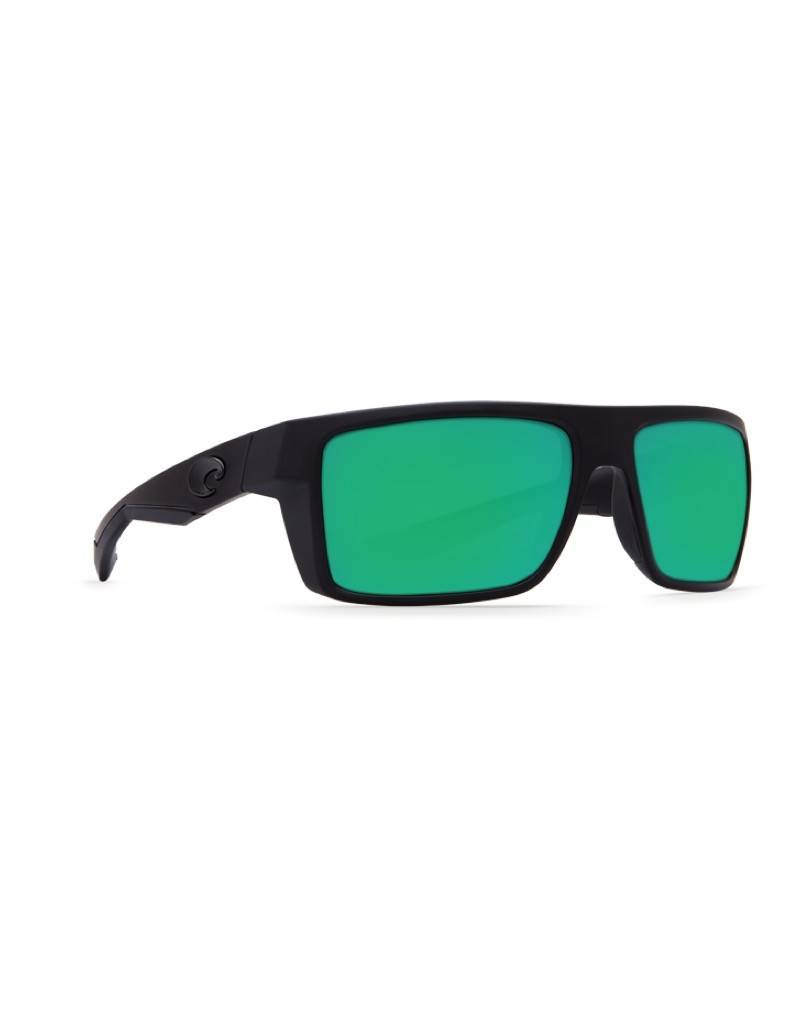 Costa Costa Motu Sunglasses Green Mirror 580P Blackout