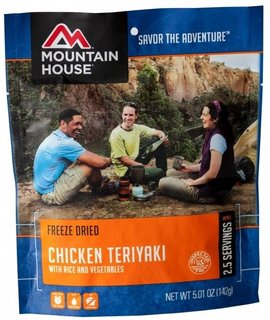 Mountain House MOUNTAIN HOUSE Chicken Teriyaki with Rice