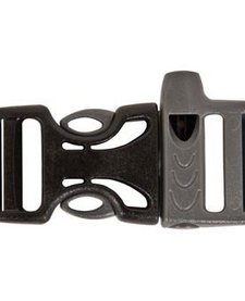 WHISTLE BUCKLE 3/4in Grey