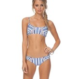 Rip Curl Rip Curl Del Sol Bralette Bikini Top Blue