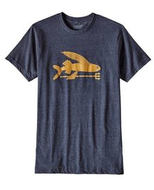 Patagonia M Flying Fish Cotton/Poly T-Shirt