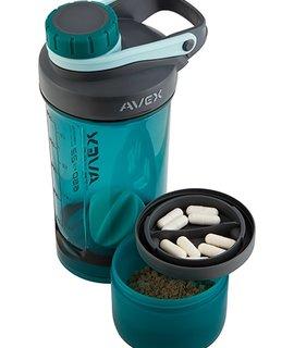 Avex Avex MIXFIT ELITE+ Shaker w/Storage Deep Sea 22oz