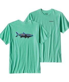 Patagonia Patagonia Men's Fitz Roy Tarpon Cotton T-Shirt