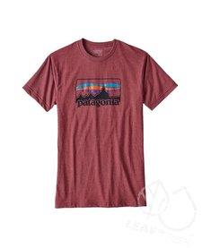 Patagonia M '73 Logo Cotton/Poly T-Shirt