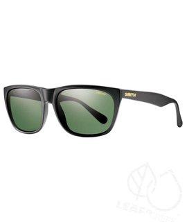 Smith Smith Tioga Matte Black Polarized Gray Green