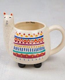 Natural Life Llama Mug
