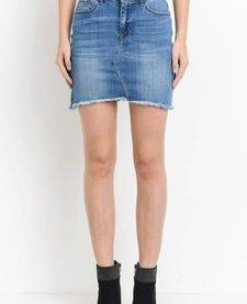 Medium Wash Denim Skirt