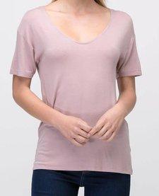 Short Sleeve U-neck Tee