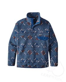 Patagonia Men's Synchilla Snap-T Fleece Pullover Lifecycle: Grass Blue XL