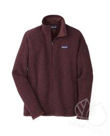 Patagonia Women's Better Sweater® Fleece Jacket Dark Ruby L