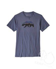 Patagonia Men Fitz Roy Bear Organic T-Shirt