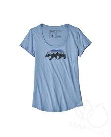 Patagonia Women Fitz Roy Bear Organic Scoop T-Shirt