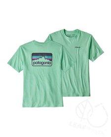 Patagonia Men Line Logo Badge Responsibili-Tee