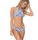 Rip Curl Rip Curl Del Sol High Neck Bikini Top Blue