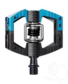 Crank Brothers Mallet Enduro Long Spindle Pedals: Blue/Black