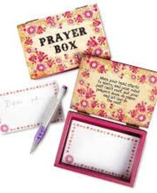 Natural LIfe Wooden Prayer Box