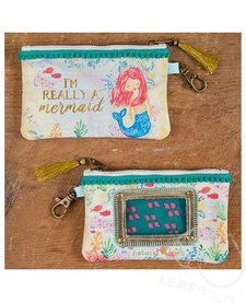Natural Life I'm Really A Mermaid ID Pouch