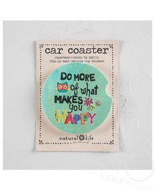 Natural Life Car Coaster