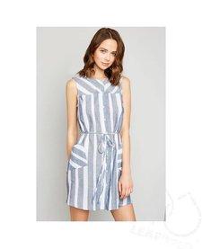 Hayden Striped Button Down Dress