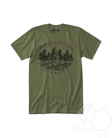 Hippy Tree Seaside Tee Military