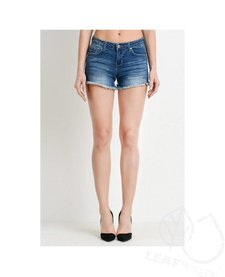 5 Pocket Classic Frayed Shorts