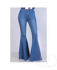 SJ Style Wide Flare Bell Bottom Jeans