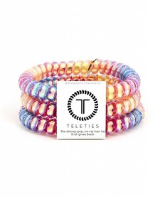 Teleties Small Hair Ties 3 pack Eat Glitter For Breakfast