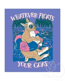 Anna Grace Whatever Floats Your Goat Short Sleeve Comfort Colors Tee