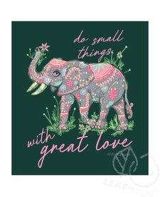 Anna Grace Great Love Elephant Short Sleeve Comfort Colors Tee