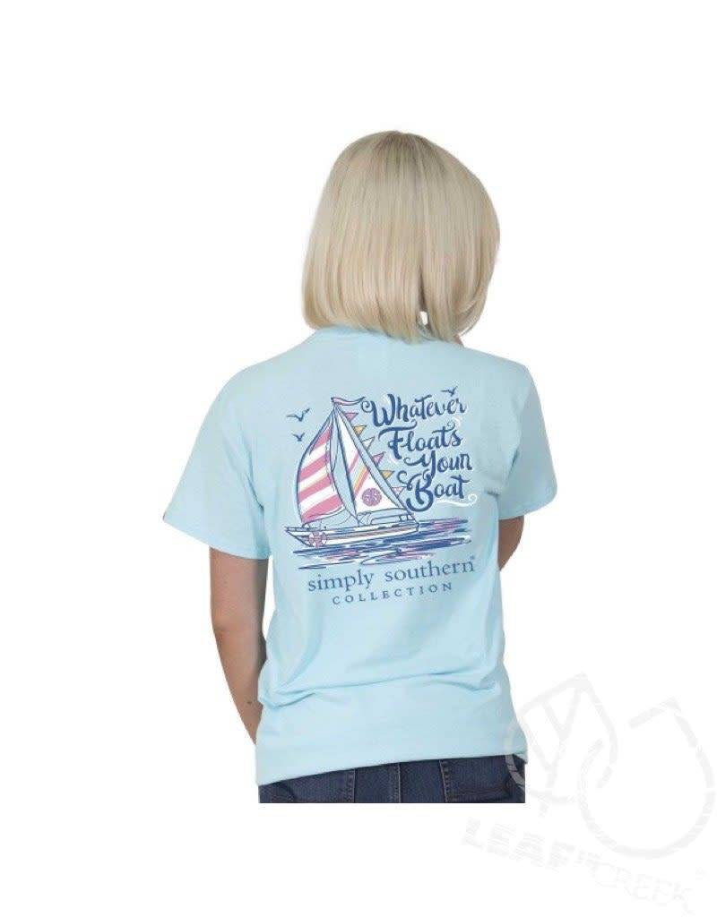 Simply Southern Simply Southern Floats Your Boat Tee