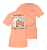 Simply Southern Simply Southern Sweet Tea And Sunshine Tee