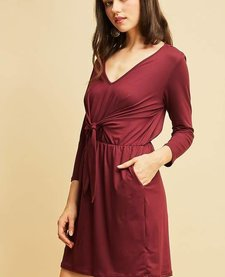 Front Tie Date Night Dress