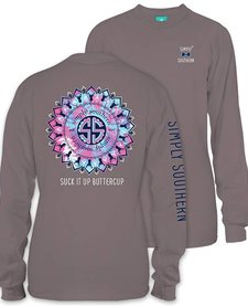 Simply Southern Suck It Up Buttercup Long Sleeve Tee
