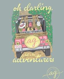 Anna Grace Short Sleeve Comfort Color Jeep Tee