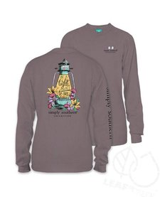 Simply Southern Be A Light Long Sleeve Tee