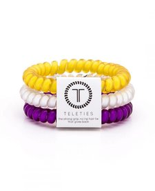 Teleties College Collection 3 Pack Hair Ties Down in the Bayou