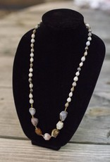Botswana Agate seed necklace