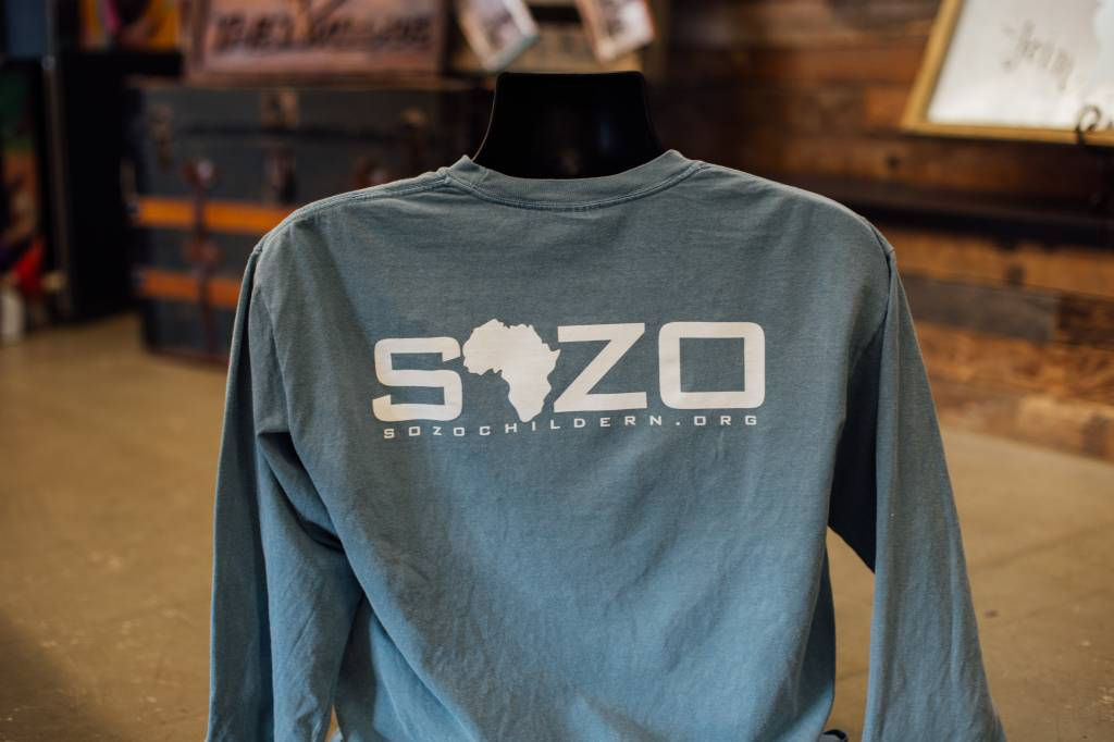 Sozo Pocket Logo Long sleeve T-Shirt