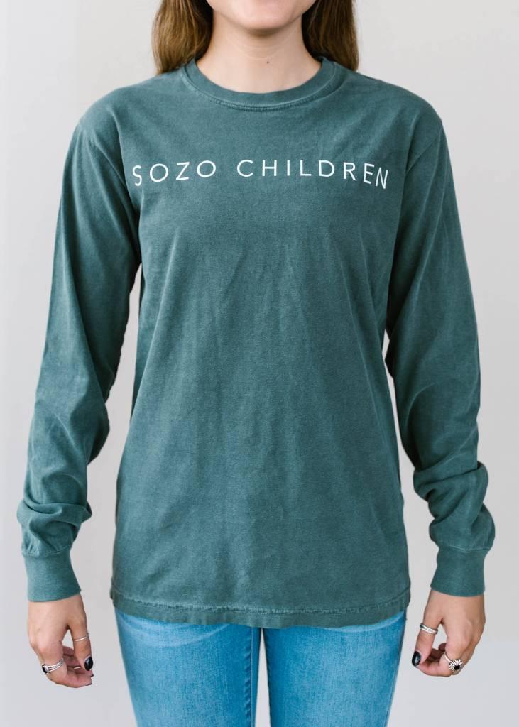 Sozo Blue Spruce Long Sleeve T-Shirt