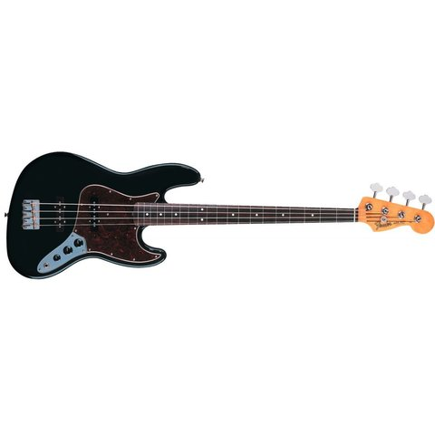 60s Jazz Bass, Rosewood Fingerboard, Black