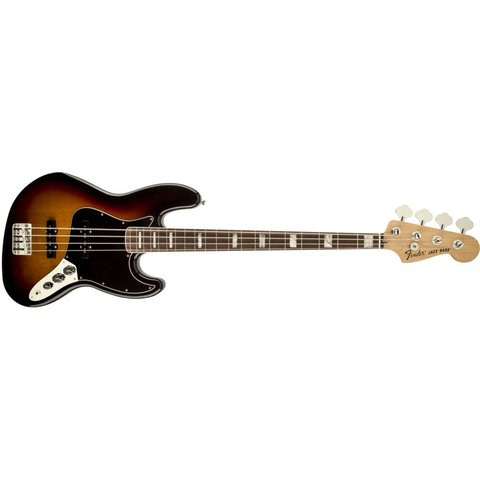 70s Jazz Bass, Rosewood Fingerboard, 3-Color Sunburst