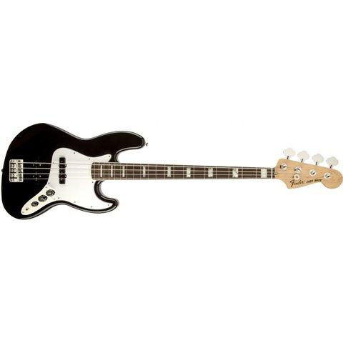 70s Jazz Bass, Rosewood Fingerboard, Black