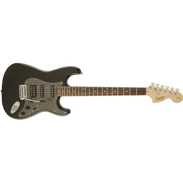 Squier Affinity Series Stratocaster HSS, Rosewood Fingerboard, Montego Black Metallic