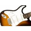 Affinity Series Stratocaster, Left-Handed, Rosewood Fingerboard, Brown Sunburst