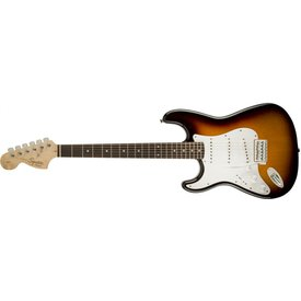 Squier Affinity Series Stratocaster, Left-Handed, Rosewood Fingerboard, Brown Sunburst