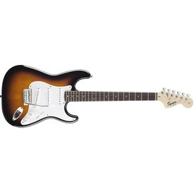 Squier Affinity Series Stratocaster, Rosewood Fingerboard, Brown Sunburst