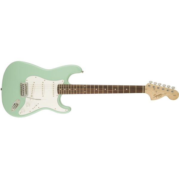 Squier Affinity Series Stratocaster, Rosewood Fingerboard, Surf Green