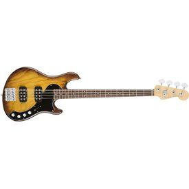 Fender American Elite Dimension Bass IV HH, Rosewood Fingerboard, Violin Burst