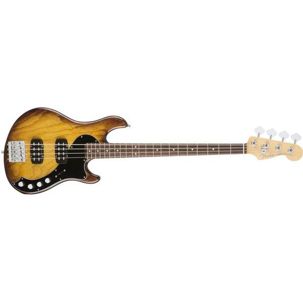 Fender American Elite Dimension Bass IV HH, Rosewood Fingerboard, Violin Burst